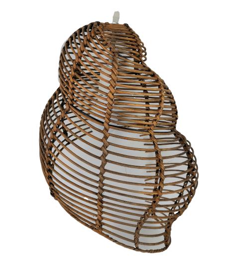 Rattan Conch Pendant Lamps Restaurant Coffee Bar home lighting Master