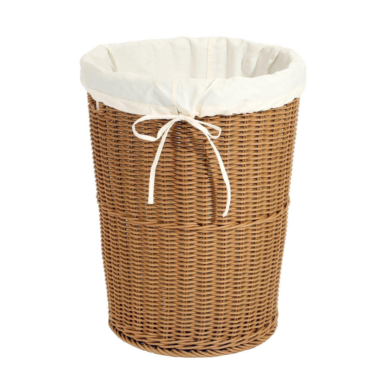 PP Rattan laundry hamper