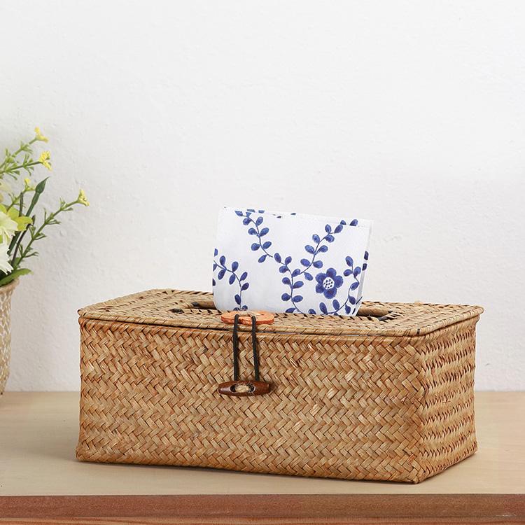 Seagrass tissue box